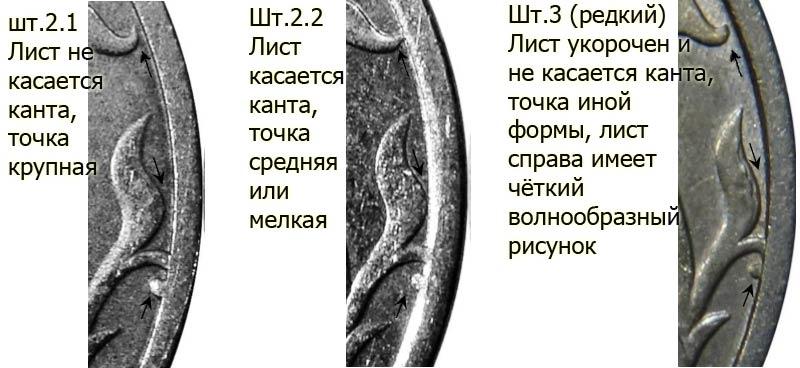 как отличить редкую разновидность 5 рублей 1998 года СПМД